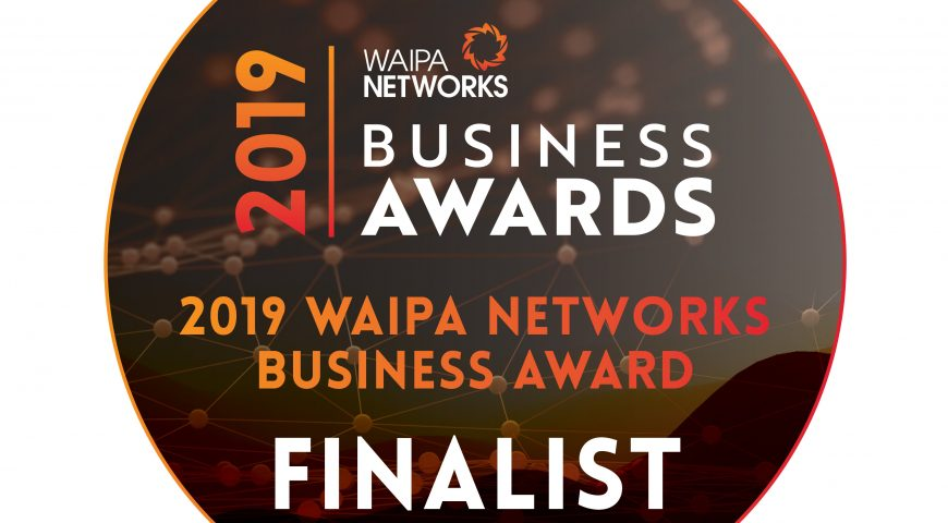 Waipa Networks Business Awards Finalist